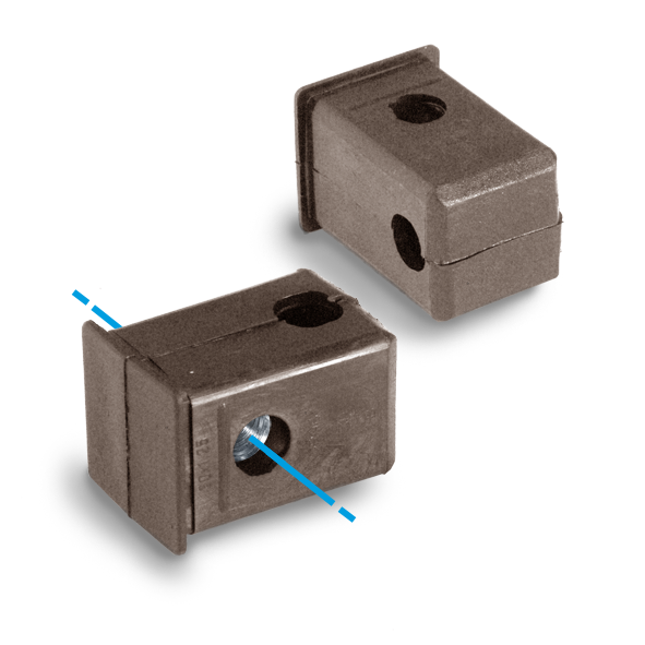 IQTH-003-Plug with threaded hole